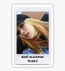 Rose blackpink sticker  Sticker