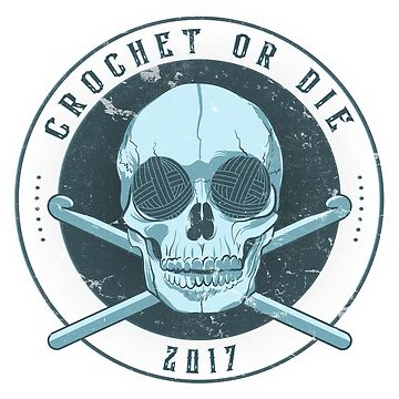 Crochet Or Die - Blue by heroics