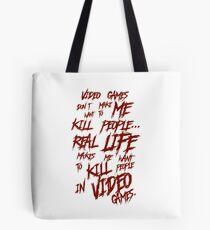Videogames Violence Tote Bag