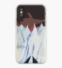 Radiohead Kid A Mountains Pixel iPhone Case