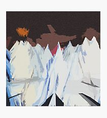 Radiohead Kid A Mountains Pixel Photographic Print