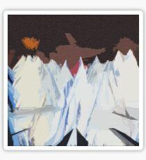 Radiohead Kid A Mountains Pixel Sticker
