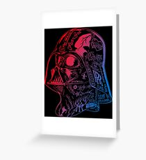 Robot Street Graphyty  Greeting Card