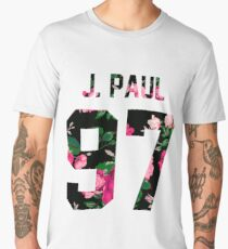 Jake Paul - Colorful Flowers Men's Premium T-Shirt