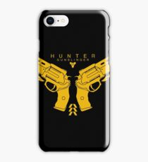 Hunter Gold Shooter Guns iPhone Case/Skin