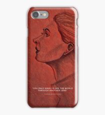 To see the world. Red iphone cases iPhone Case/Skin