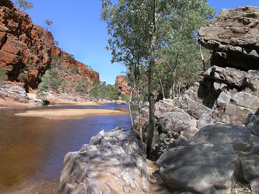 Ormiston Gorge by Inishiata