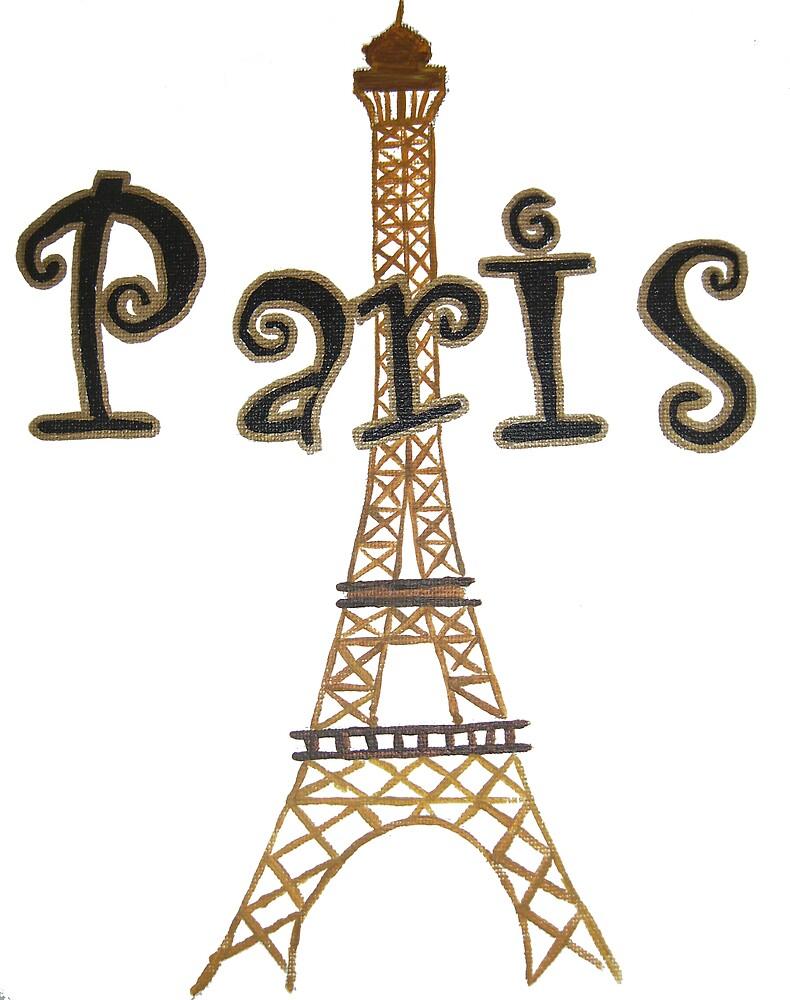 Paris by punkymonkey