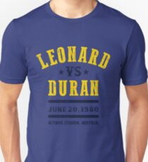 Leonard gegen Duran Unisex T-Shirt