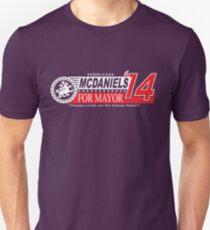 Hiram McDaniels for Mayor '14 T-Shirt