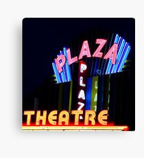 the plaza comes alive Canvas Print