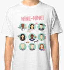 Brooklyn Nine-Nine Squad Classic T-Shirt