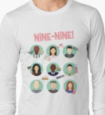 Brooklyn Nine-Nine Squad Long Sleeve T-Shirt
