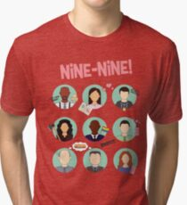 Brooklyn Nine-Nine Squad Tri-blend T-Shirt