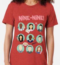 Brooklyn Neun-Neun-Kader Vintage T-Shirt