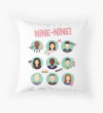 Brooklyn Nine-Nine Squad Throw Pillow