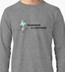 Shurikens and Lightning Lightweight Sweatshirt