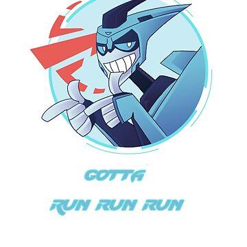 Gotta run run run! by DiamondCrusade