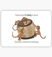 monkey cute Sticker