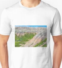 Badlands Canyons And Valleys T-Shirt