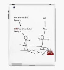 LOTR SUDO (Wv) iPad Case/Skin