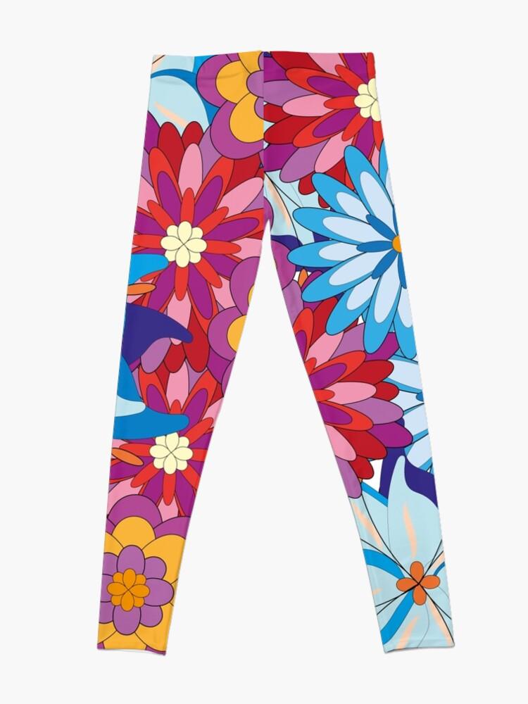 Alternative Ansicht von Flower Power Leggings