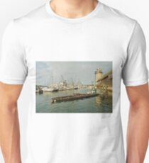 Falmouth Harbour From The Discovery Quay Unisex T-Shirt