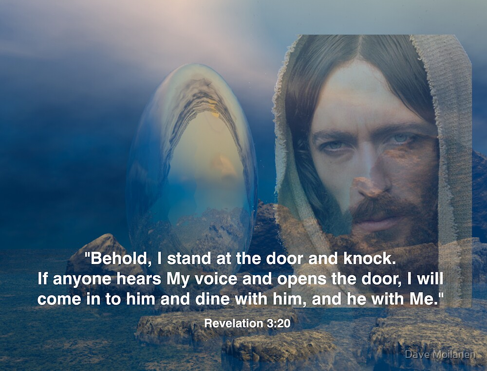 Revelation 3:20 by Dave Moilanen