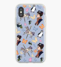 Mary Poppins Pattern iPhone Case