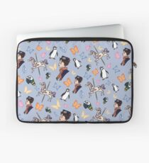 Mary Poppins Muster Laptoptasche