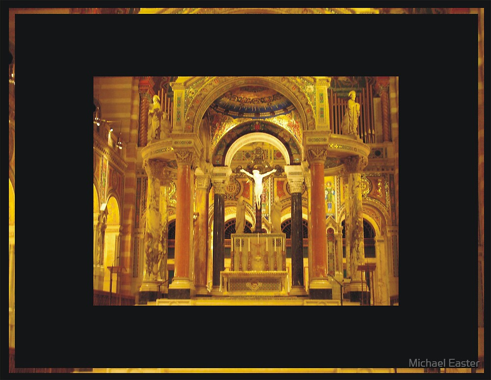 Alter Of the Bascillica by Michael Easter