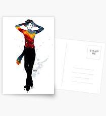 Galaktische Skater - Phichit Postkarten
