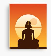Darth Buddha Canvas Print