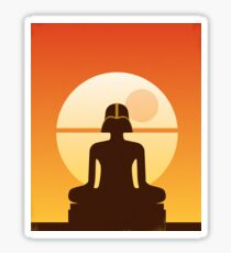 Darth Buddha Sticker