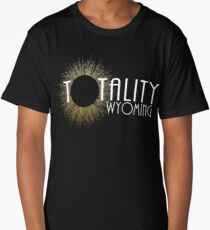 Total Eclipse Shirt - Totality Is Coming WYOMING Tshirt, USA Total Solar Eclipse T-Shirt August 21 2017 Eclipse Long T-Shirt