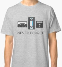 Never Forget the 80's Classic T-Shirt