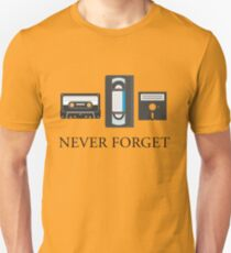 Never Forget the 80's T-Shirt