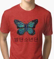 BTS 방탄소년단 Butterfly Tri-blend T-Shirt