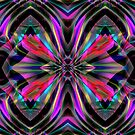 The Art of Frank Bonilla Abstract Fractals by Delights