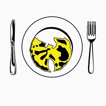 Dinner plate by DeskJunky
