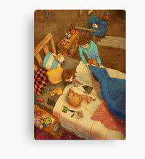 Wrap yourself in a blanket Canvas Print