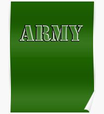 Army, Soldier, War, Infantry, Conflict, Warrior, Grunt, fighter, fighting force Poster