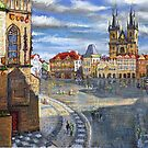 Prague Old Town Squere by Yuriy Shevchuk