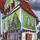 Chesky Krumlov Old Street 4 by Yuriy Shevchuk