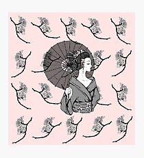 Vecta Geisha Photographic Print