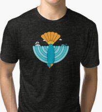 Bird Landscape Tri-blend T-Shirt