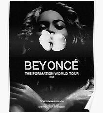 "Beyoncé - Fine Art Poster ""The Formation World Tour 2016"" Poster"