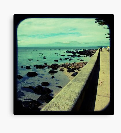 The Esplanade Canvas Print