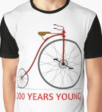 Celebrate The Bicycle! 200 Years Young! Graphic T-Shirt
