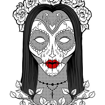 Vecta Skull Girl by VectaSelecta